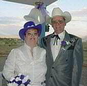 Our wedding day - November 2003